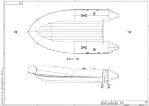 Лодка ПВХ нднд ARL390 Badger в Новосибирске