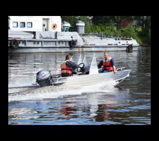 Wyatboat-390 M с 2 консолями в Новосибирске