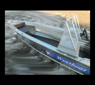 Wyatboat-390 У с двумя консолями в Новосибирске