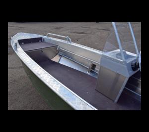 Wyatboat-390 У с консолью в Новосибирске