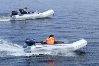 Лодка ПВХ Classic Line 370 PW Badger графит