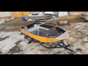 Моторно-гребная лодка ORIONBOAT 43М в Новосибирске