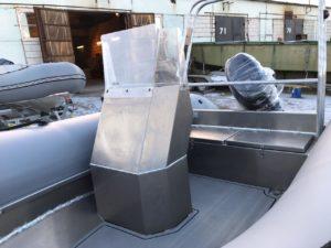 Лодка РМ 450 RIB с алюминиевым корпусом в Новосибирске