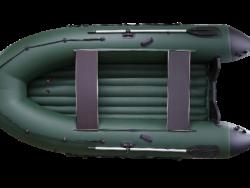 Надувная ПВХ лодка РМ 450 Air, моторная-гребная, килевая в Новосибирске
