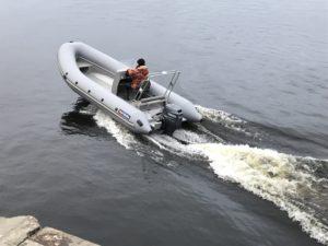 Лодка РМ 550 RIB с алюминиевым корпусом в Новосибирске