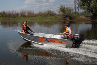 салют Wellboat-37 в Новосибирске